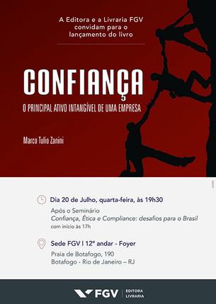 Lançamento do livro Confiança, de Marco Tulio Zanini