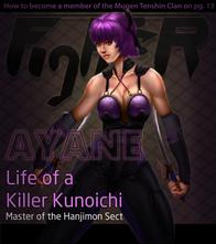 Ayane Magazine Cover