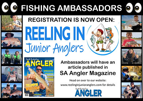Reeling In - Junior Anglers Ambassadors