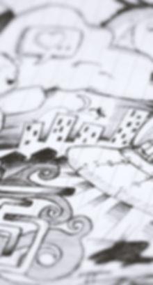 Illustrazione in bianco e nero