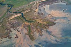 Aerial View Lake Corangamite
