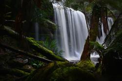 Russel Falls in Winter