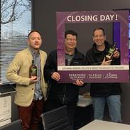 A big closing day!