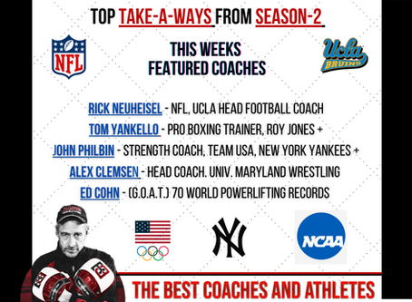 PART -1: TOP TAKE-A-WAYS FROM SEASON-2 (THE COACHES)