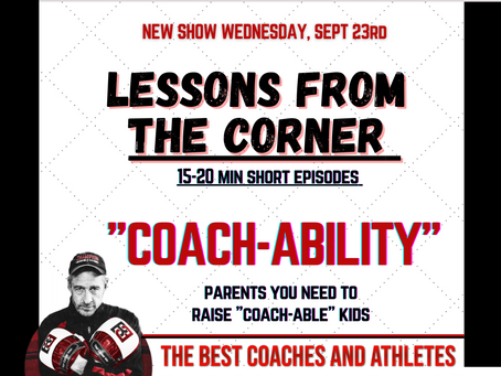 COACH-ABILITY: What every leader, athlete and parent need to hear.