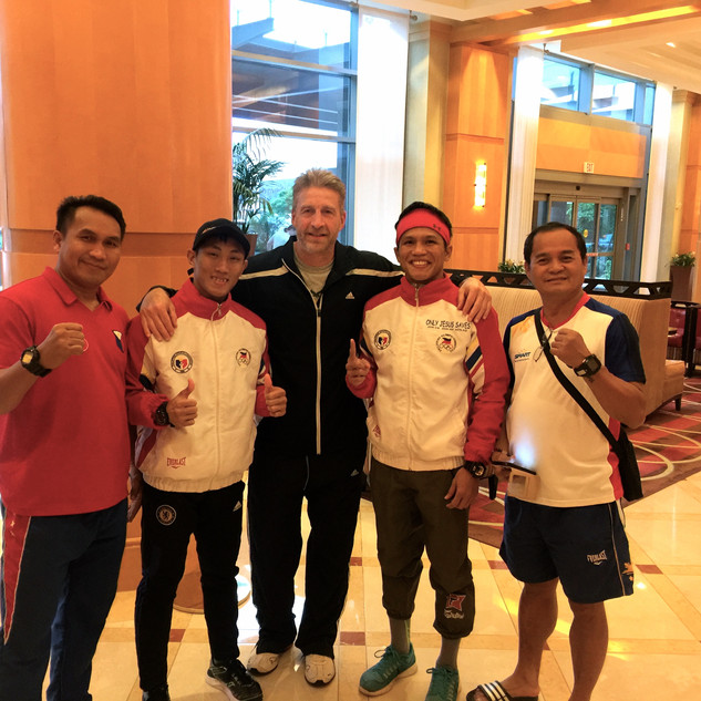 Philippine Olympians & Coach