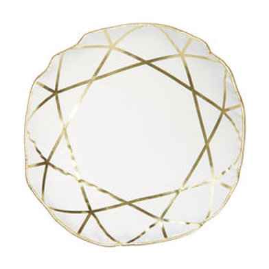 Gold Foil Circle Cushion