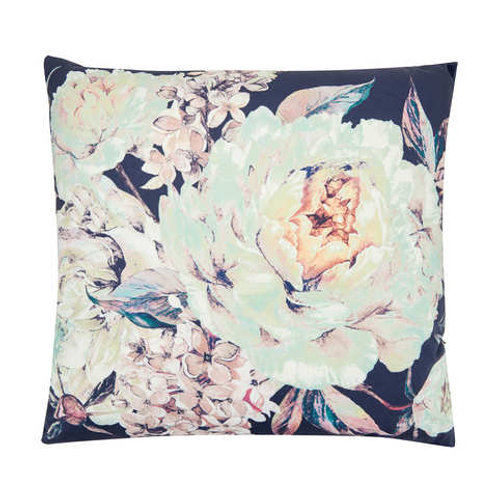 Cushions - navy floral