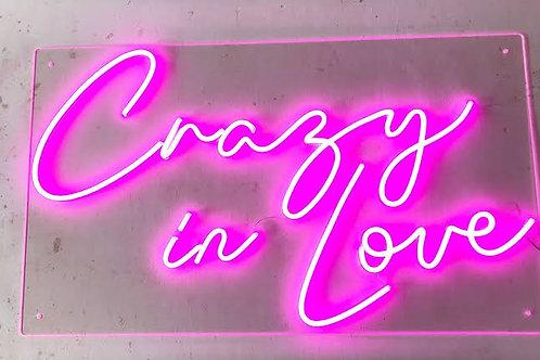 Neon Sign - crazy in love