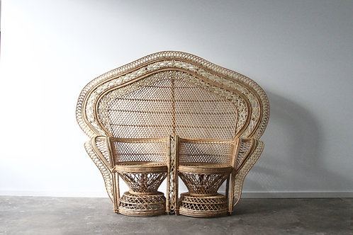 Double Peacock Chair
