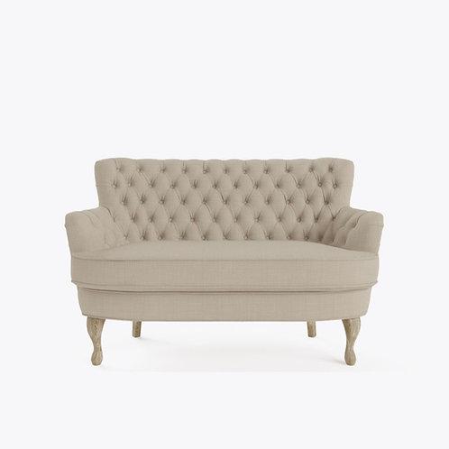 Love seat - linen