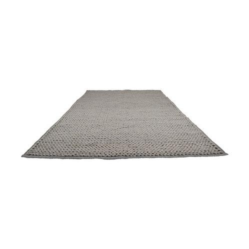Grey woollen rug