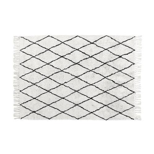 Rugs - beige black diamond XL