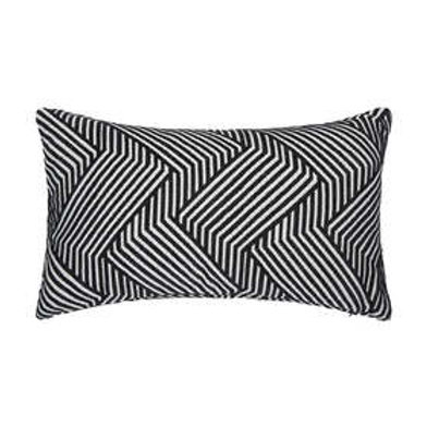 Black and White Long Cushion
