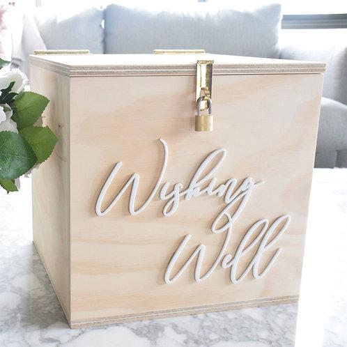 Ply Wishing Well / Card Box