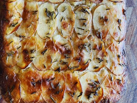 rosemary + potato foccacia