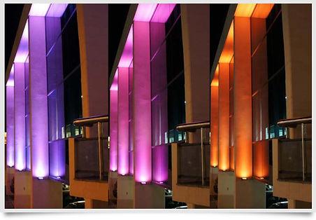 Eclairage extérieur architectural