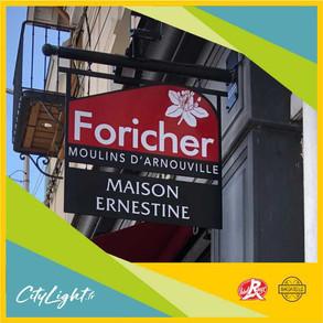 Enseigne Foricher