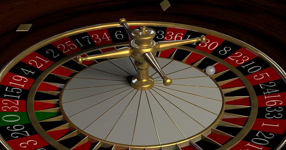 [Image description] A stopped roulette wheel.