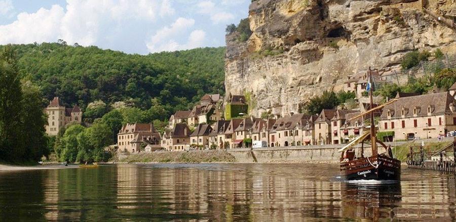 Dordogne promenades sur la rivière rivière