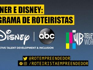 Warner e Disney/ABC Abrem inscrições para programa de roteiristas!