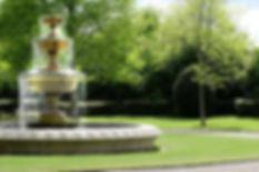 Fountain in a park in London.jpg