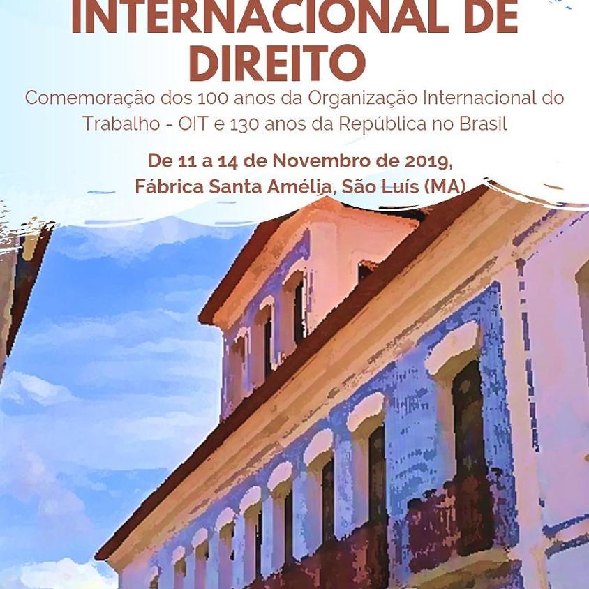 CONGRESSO INTERNACIONAL DE DIREITO