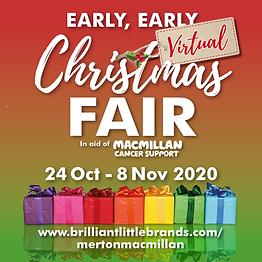 Macmillan Fair SQUARE social media 2020.