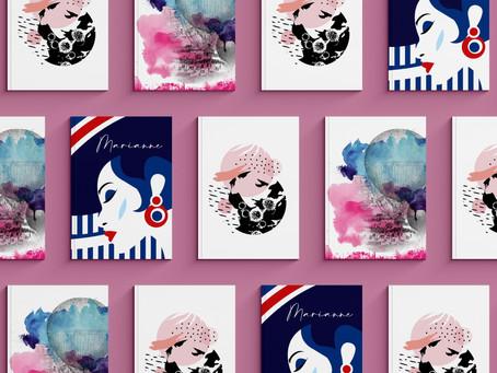 Les Ateliers Marianne, nouvelle marque de papeterie fantaisie et belles affiches