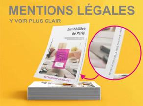 Les mentions légales et obligatoires en imprimerie (part 2)