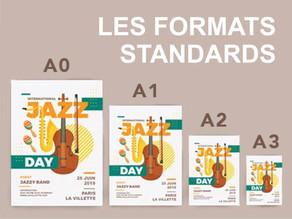 Les formats standards des documents dans l'imprimerie
