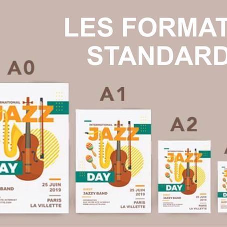 Les formats standards des documents en imprimerie