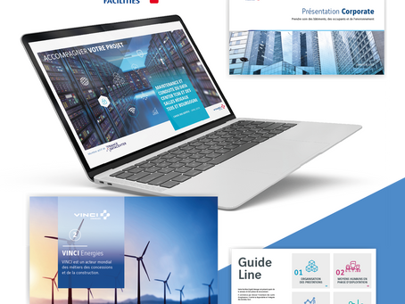 VINCI // Projets de présentation PowerPoint, PDF interactif