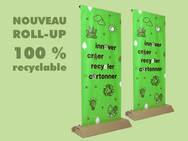 roll up écologique carton
