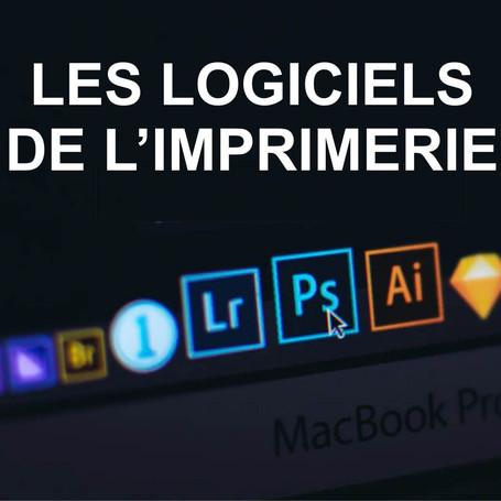 Les logiciels utilisés dans l'imprimerie