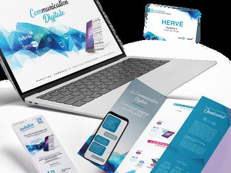 RUBRIKC & SEND UP // Communication digitale globale