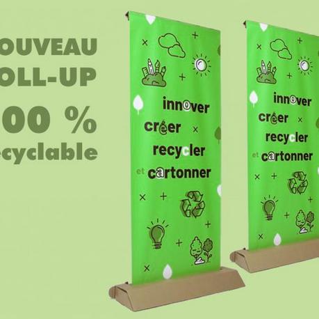 Le roll-up écologique qui fait un carton !