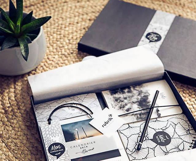 Création Graphique de la Paper Box : une box collector !