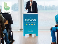 podium conférence carton recyclé écologi