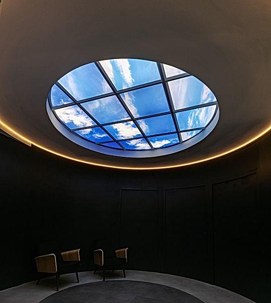 Plafond lumineux Lightmann - forme circu