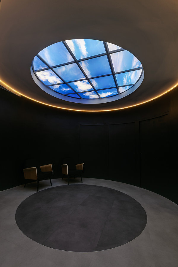 Plafond lumineux Lightmann - forme circulaire