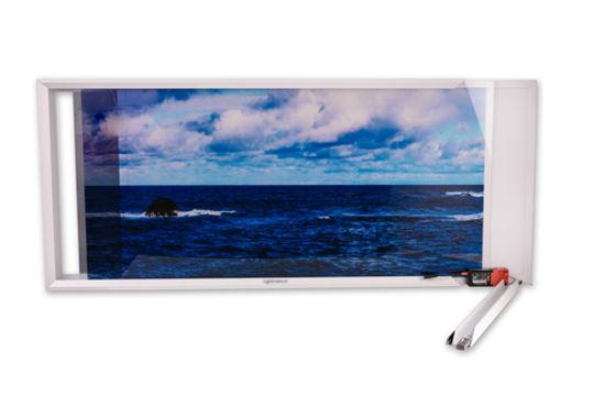Produit Lightmann Dalles led 120 x60 décoratives