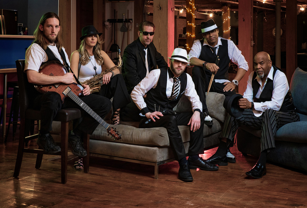 Superstar Mafia - Band Promotional Photo, February 2019