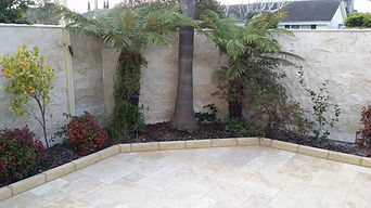 Travertine Wall Cladding And Paving