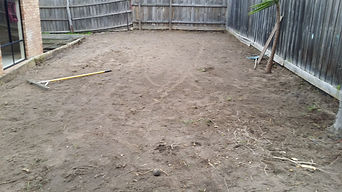 Putting Green and Dry Block Wall