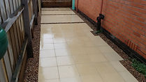 Riverstone Pavers with Pebbles