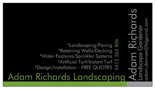 Adam Richards Landscaping