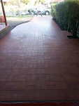 Clay Pavers on Mortar