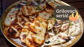 Grilovací seriál: Sýr s jemnou česnekovou marinádou