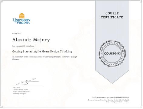 Alastair Majury Agile Meets Design Thinking